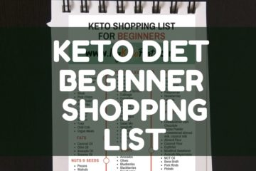 KETO DIET BEGINNER SHOPPING LIST keto grocery list