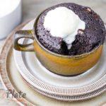 chocolate keto mug cake