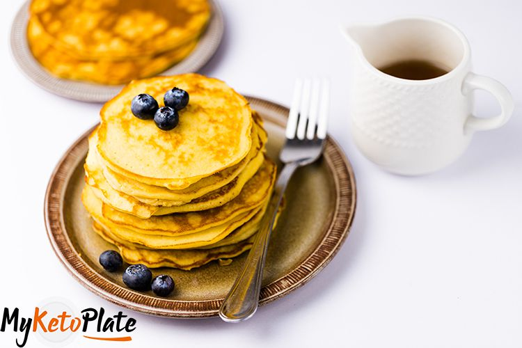 Foolproof Fluffy & Thick Keto Pancakes with Coconut Flour Recipe