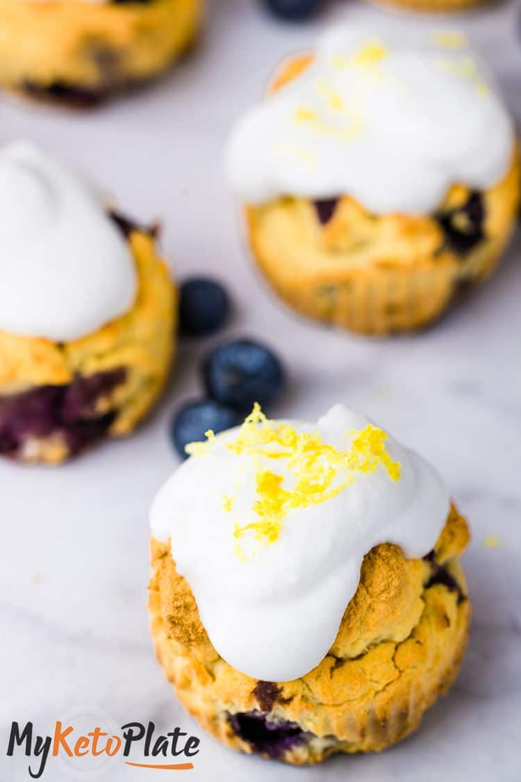 Blueberry muffins with only 2g carbs.