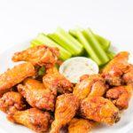 keto crispy chicken wings in the air fryer