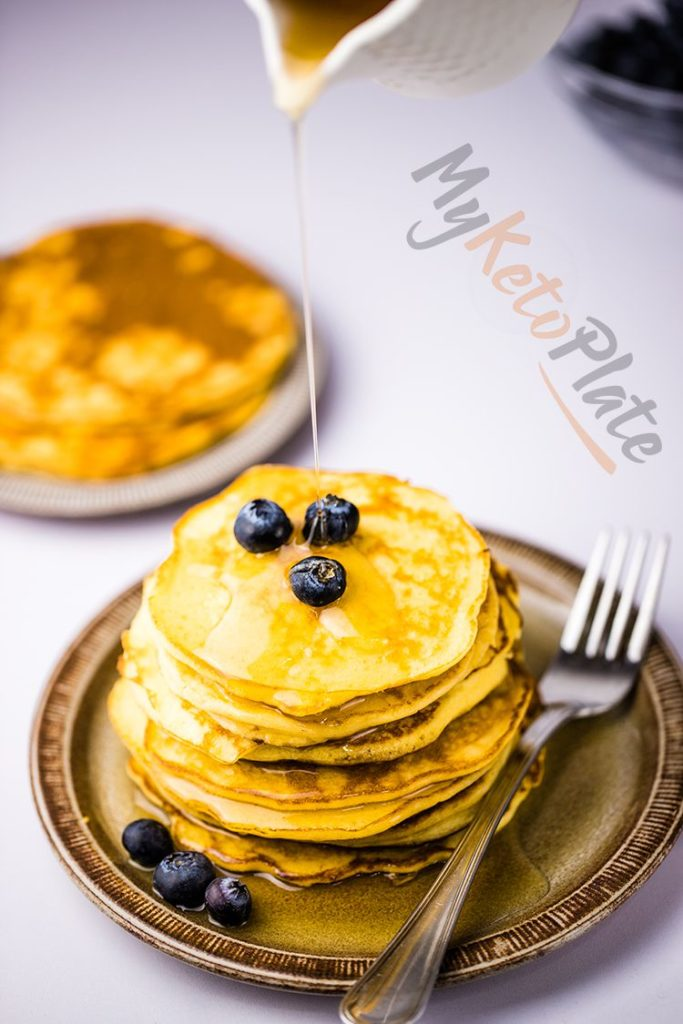 keto paleo low carb pancakes recipe