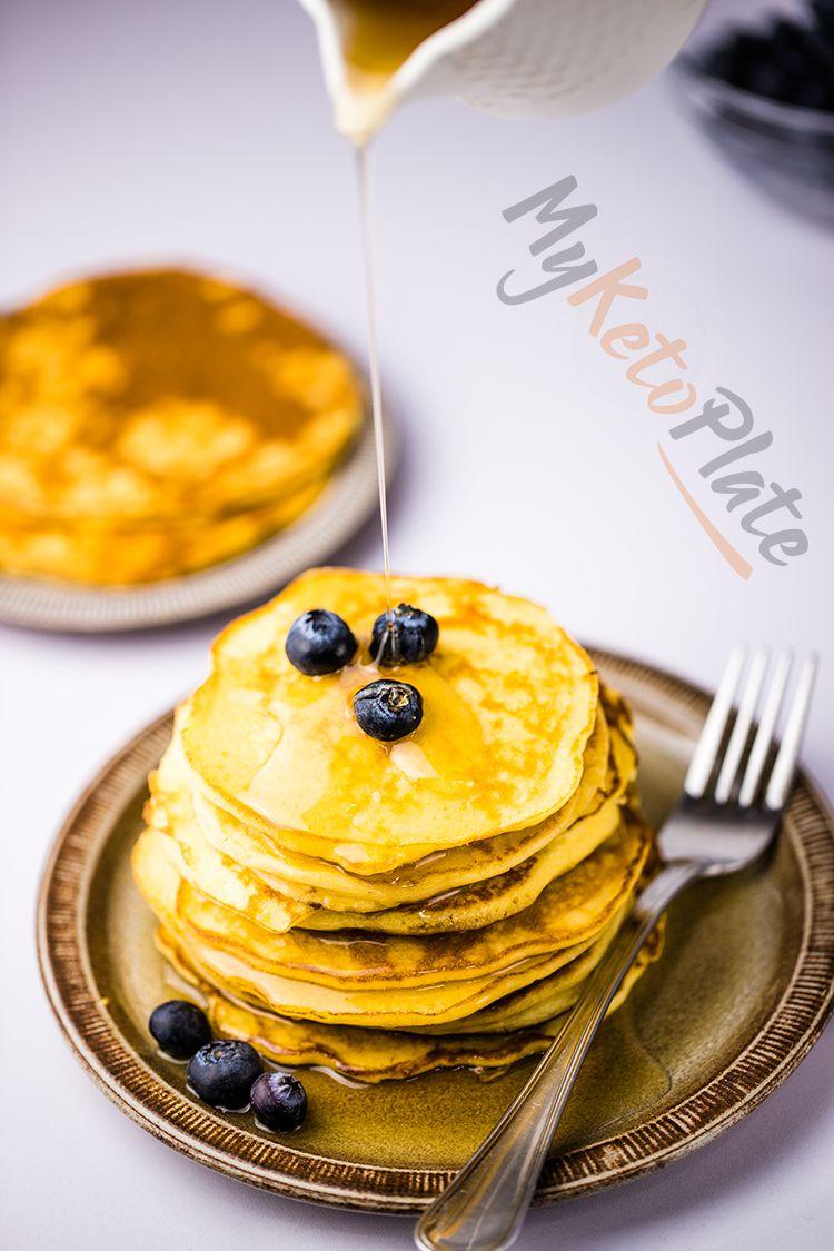 keto paleo low carb pancakes recipe