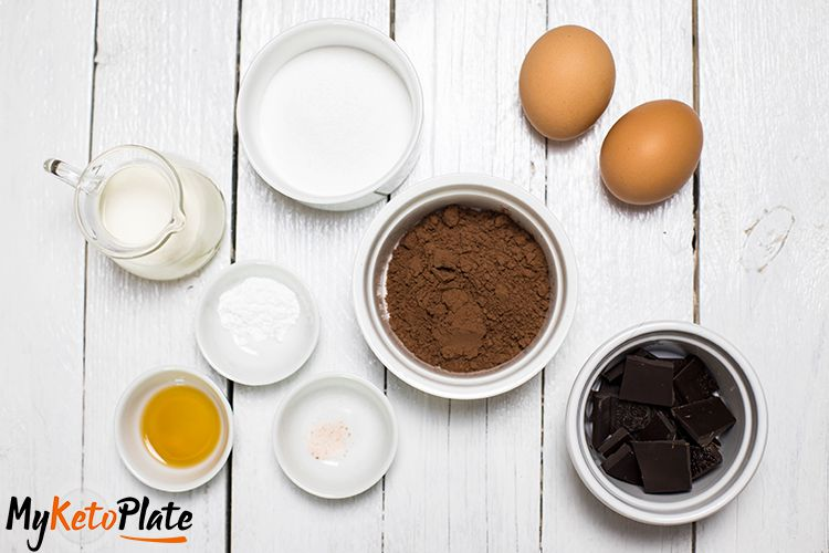 chocolate lava cake ingredients