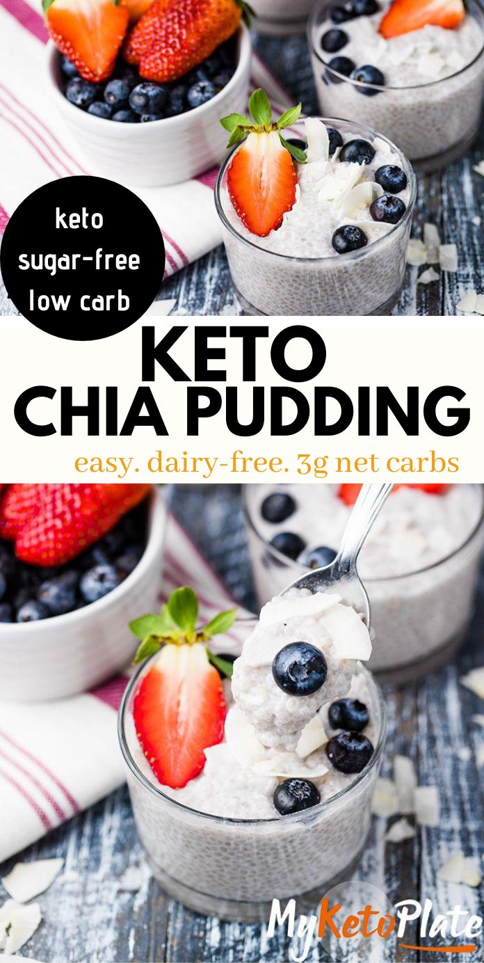 Easy 4-Ingredient Vanilla Chia Pudding Recipe