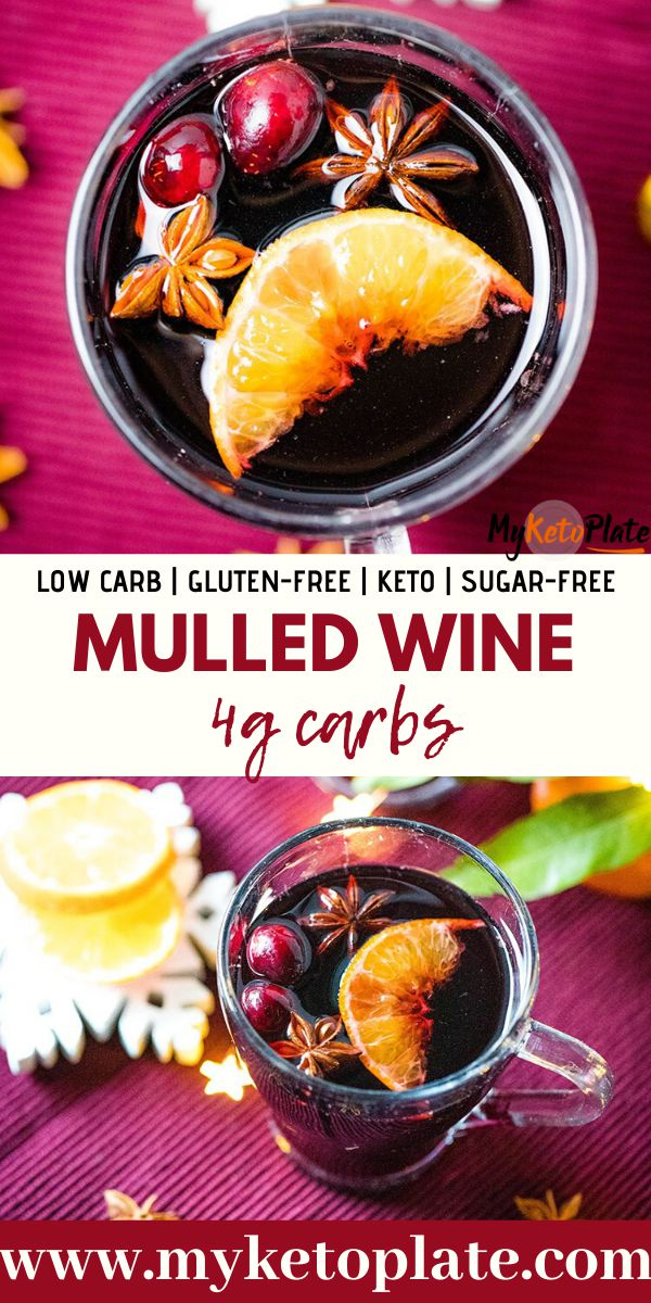 Homemade Mulled Wine – Winter Low Carb Drink