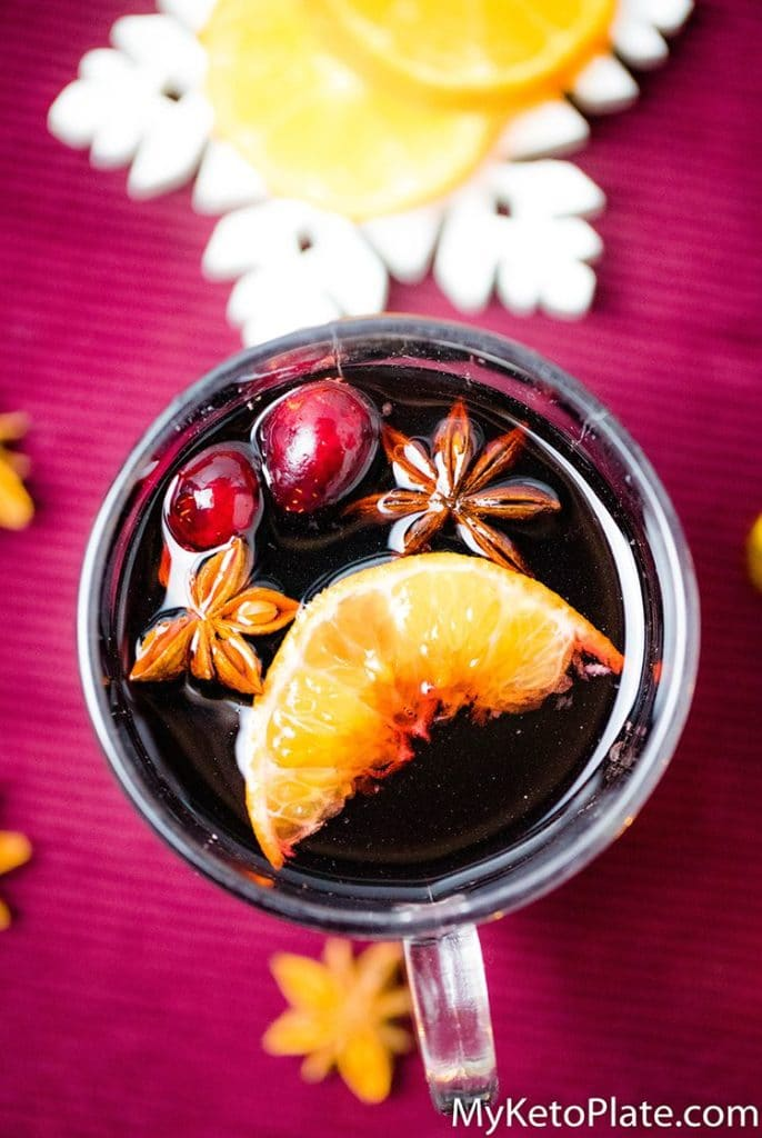 easy recipe for low carb mulled wine